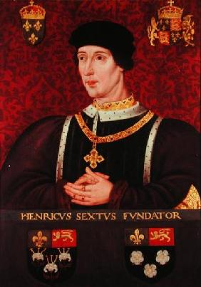 Portrait of Henry VI of England (1421-71)