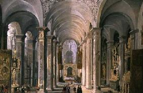Interior of a Church