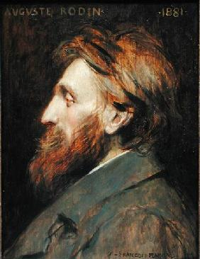 Portrait of Auguste Rodin (1840-1917)