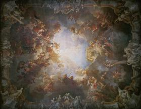 The Apotheosis of Hercules, from the ceiling of The Salon of Hercules