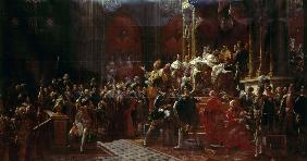 G�rard, Fran�ois Pascal Simon : The Coronation of Charles ...