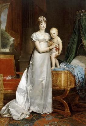 G�rard, Fran�ois Pascal Simon : Empress Marie-Louise With ...