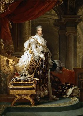 G�rard, Fran�ois Pascal Simon : King Charles X of France
