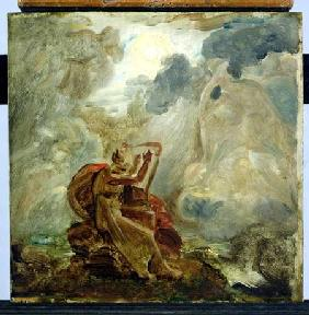 Ossian Conjures Up the Spirits with His Harp on the Banks of the River of Lorca