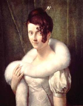 G�rard, Fran�ois Pascal Simon : Portrait of a woman with a...