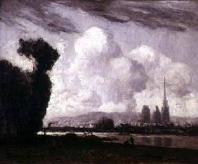 Boggs, Frank Myers : View of Rouen