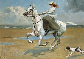 Riding on the Strand