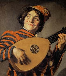 Hals, Frans : Lute playing fool