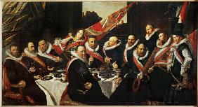 Hals, Frans : Banquet of the Officers......