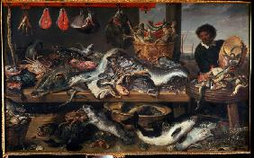 A Fishmonger's shop