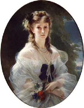 Portrait of Sophie Troubetskoy (1838-96), Countess of Morny