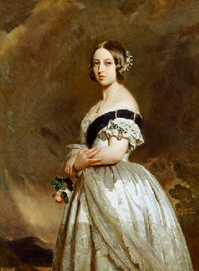 Portrait of Queen Victoria (1837-1901)