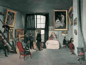 Bazille, Fr�d�ric : The studio of the artist i...