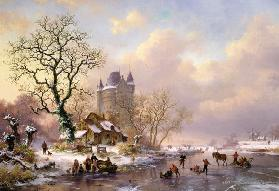 Winter Landscape with a Castle