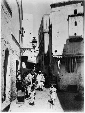 Algiers, c.1900 (b/w photo)