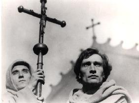 Antonin Artaud (1896-1948) in the film 'The Passion of Joan of Arc' by Carl Theodor Dreyer (1889-196