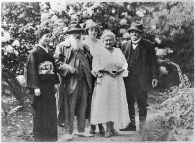 Madame Kuroki, Claude Monet (1840-1926), Alice Butler (1894-1949), Blanche Hoschede-Monet and George