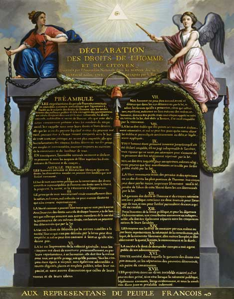 the reasons for the existence of the declaration of the rights of man and of the citizen The declaration of the rights of man and of the citizen is the founding document of the french republic a product of the 1789 french revolution , it reflected a radically new view of human rights.