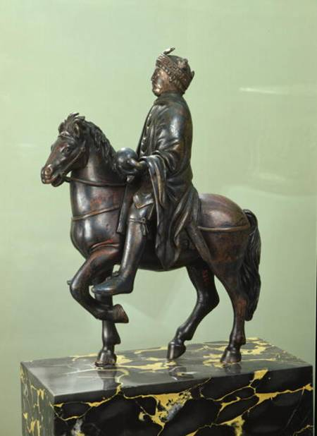Equestrian Statue Of Charlemagne 742 81 French School