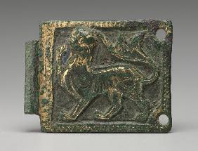 Plaque from a belt buckle, 1200/1225