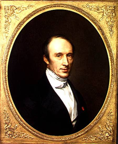 Portrait Of Louis Cauchy 1789 1857 French School As