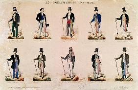 Costumes of various professions, from ''Le Compagnonnage Illustre''