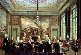 The Council of Regency for the Minority of Louis XV (1710-74)