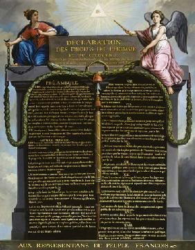 Declaration of the Rights of Man and Citizen