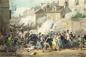 Defence of a Barricade, 29th July 1830