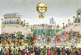 Entry into Paris of Louis XVIII (1755-1824) 4th May 1814