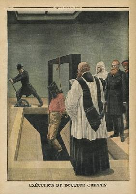 Execution of Doctor Crippen, illustration from ''Le Petit Journal'', supplement illustre, 4th Decemb