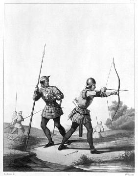 Free archers during the reign of Louis XI (1461-83)