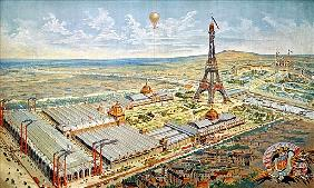 General View of the Universal Exhibition, Paris