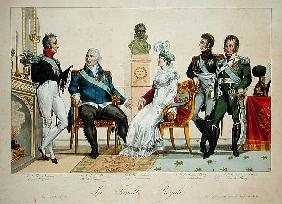 Louis XVIII (1755-1826) and his Family