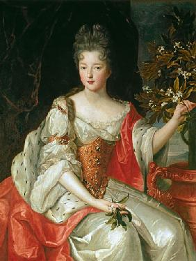 Portrait of Louise-Francoise de Bourbon (1673-1743) late 17th century