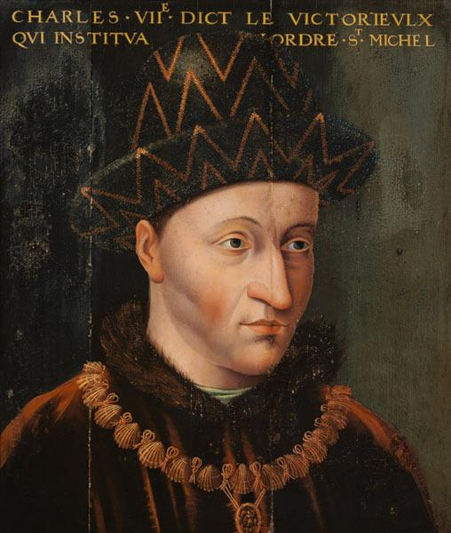 Portrait of Charles VII (1403-61)