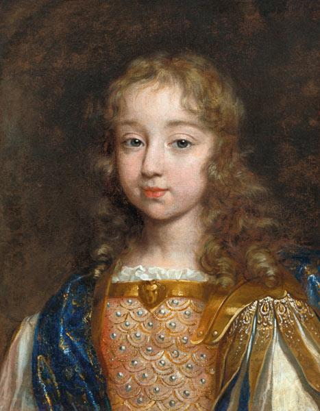Portrait of the Infant Louis XIV (1638-1715)