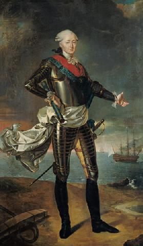Portrait of Louis-Jean-Marie de Bourbon (1725-93) Duke of Penthievre