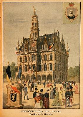 The Belgian Pavilion at the Universal Exhibition of 1900, Paris, illustration from ''Le Petit Journa