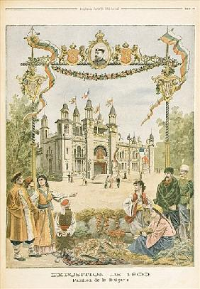 The Bulgarian Pavilion at the Universal Exhibition of 1900, Paris, illustration from ''Le Petit Jour