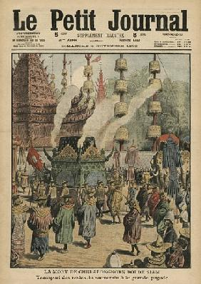 The Death of Chulalongkorn, King of Siam, illustration from ''Le Petit Journal'', 6th November 1910
