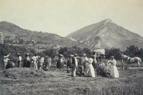 Distilling Lavender, from 'Industrie des Parfums a Grasse', c.1900 (photo)