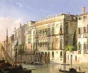 Nerly, Friedrich : The Ca' d'Oro, Venice