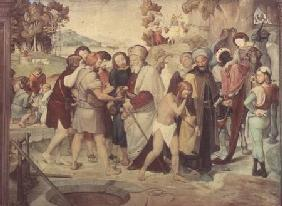 Joseph Being Sold by his Brothers, from the Casa Bartholdy fresco cycle