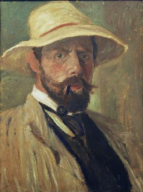 Fritz Overbeck , Self-Portrait