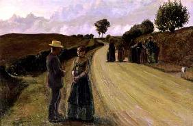 Love Making in the Evening, 1889-91