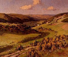 In the valley of Schleiden, Eifel