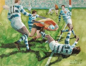 Rugby Match: Australia v Argentina in the World Cup, 1991 (w/c)