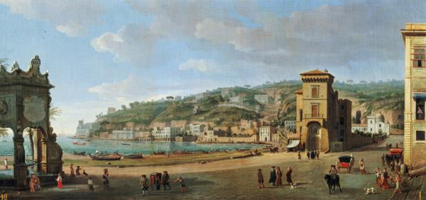 The Riviera of Chiaia at Naples