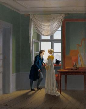 Kersting, Georg Friedrich : Couple at the window